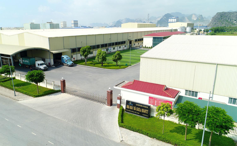 Nhà máy đá nhân tạo Caslaquartz tại khu công nghiệp Châu Sơn - Hà Nam