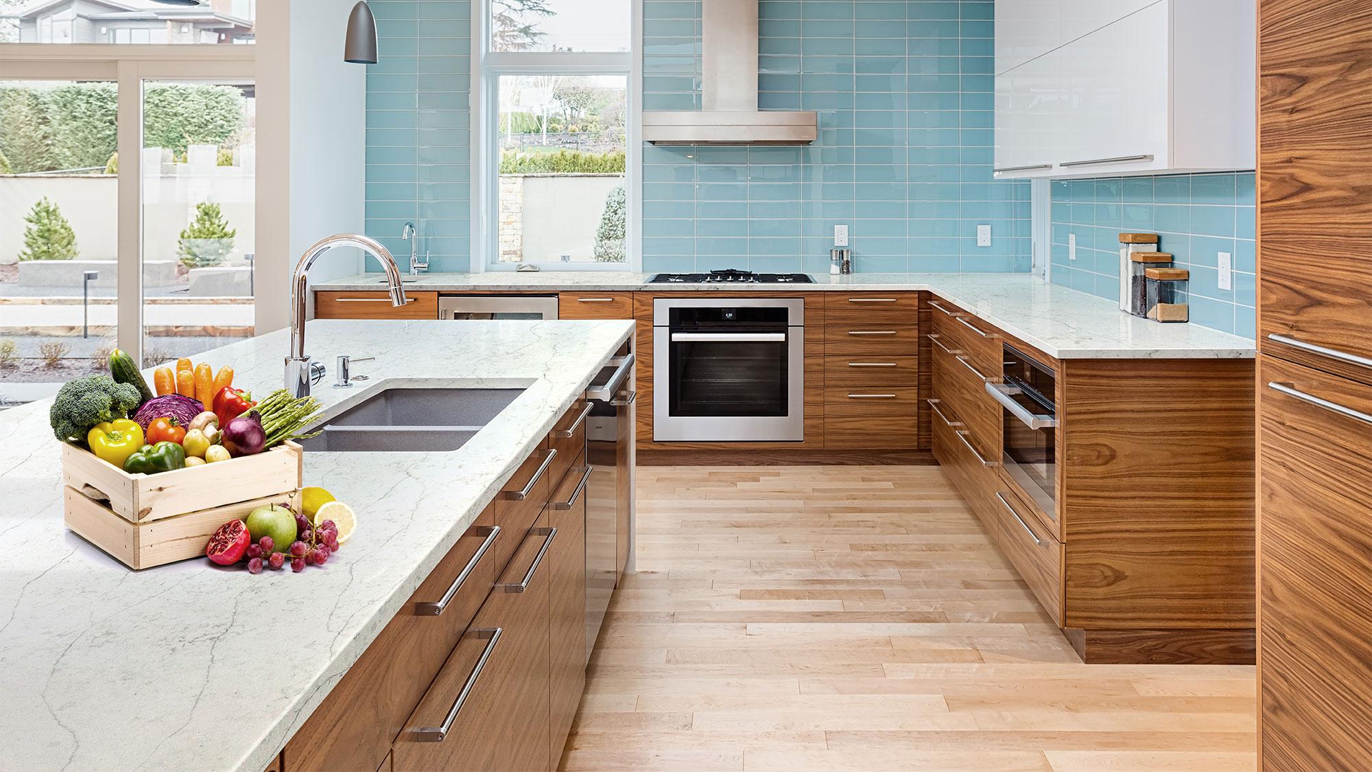 Mặt bàn bếp nên dùng đá gì? Đá tự nhiên hay nhân tạo?