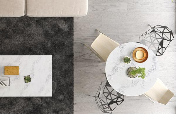 Bàn trà mặt đá cao cấp - Xu hướng mới hiện đại và tinh tế