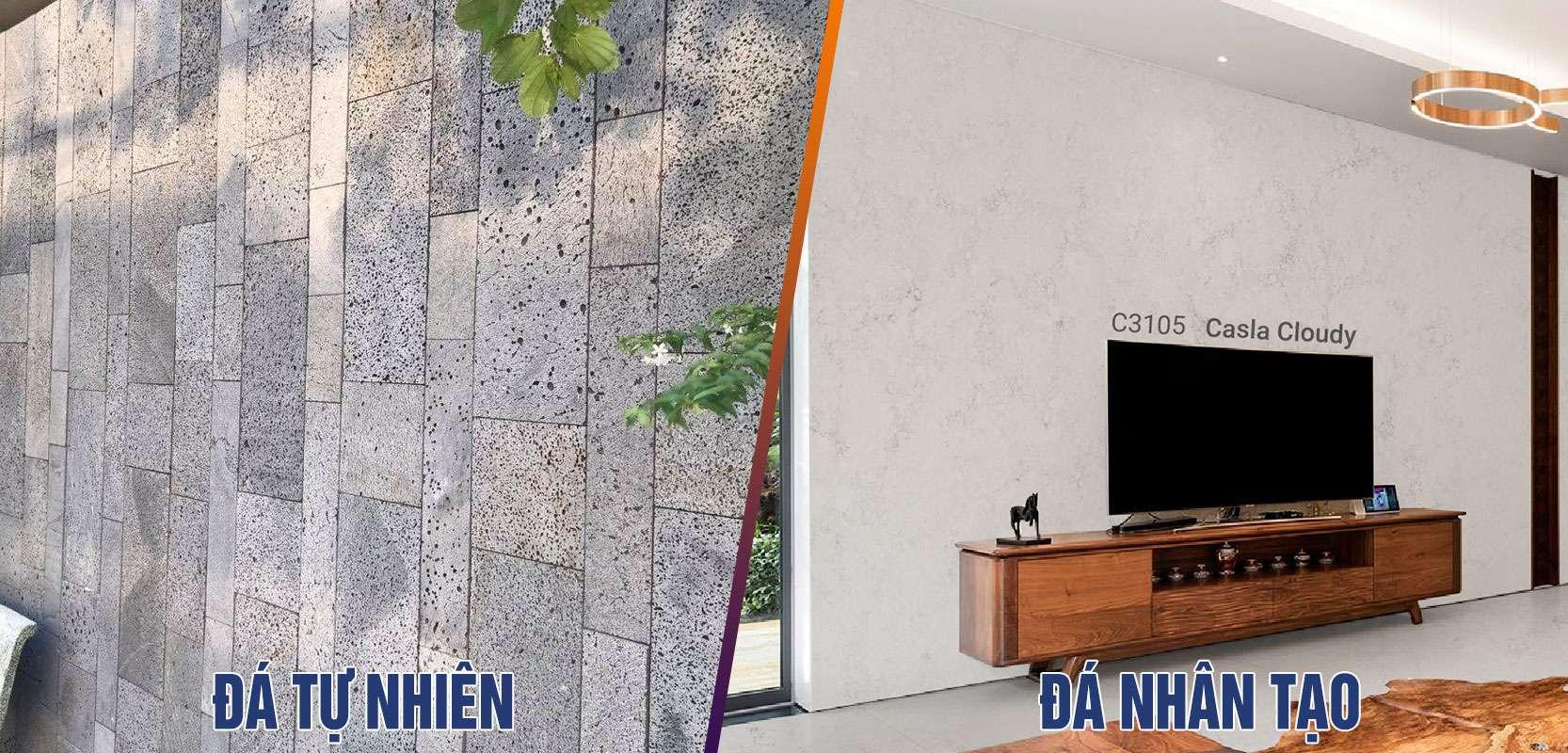 Các loại đá ốp tường nhà đẹp cho không gian hiện đại