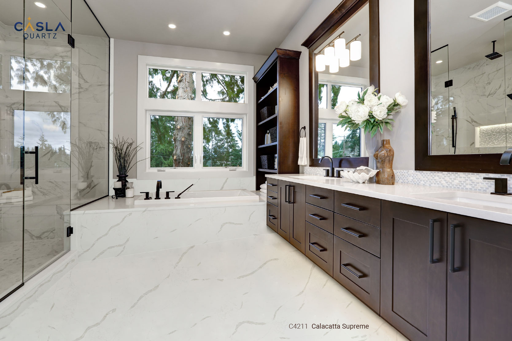 Ứng dụng đá quartz cho phong cách nội thất Tân cổ điển (Neoclassical)