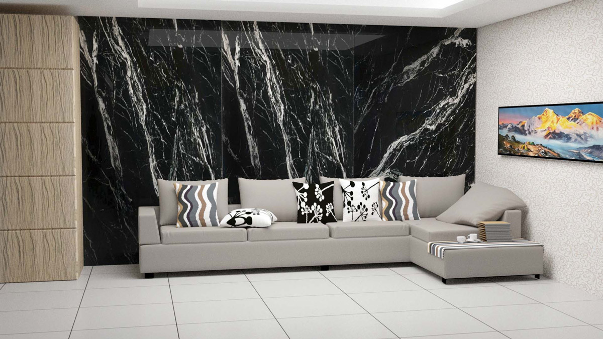 Đá cẩm thạch (marble) là loại đá hình thành qua hàng triệu năm biến đổi địa chất của trái đất nên có những đường vân đá và màu sắc độc nhất vô nhị.