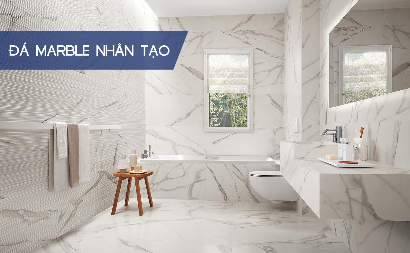Đá marble nhân tạo