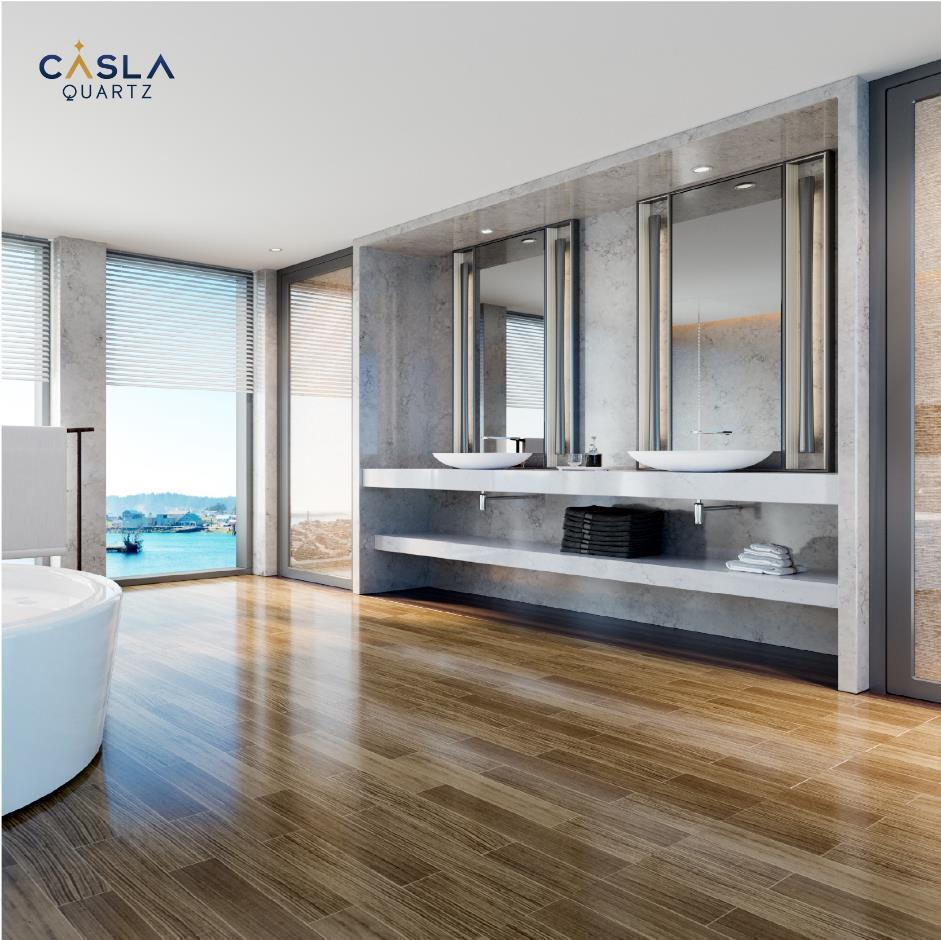 5 lý do bạn nên chọn đá Caslaquartz cho căn hộ chung cư cao cấp