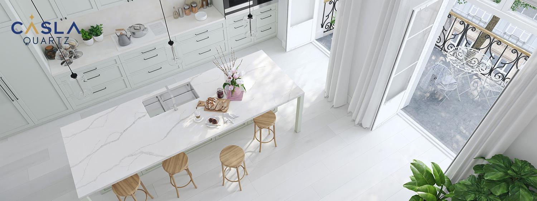 Đá Calacatta Gold cực kỳ phù hợp với những không gian như biệt thự, các trung tâm thương mại, khách sạn, resort,…