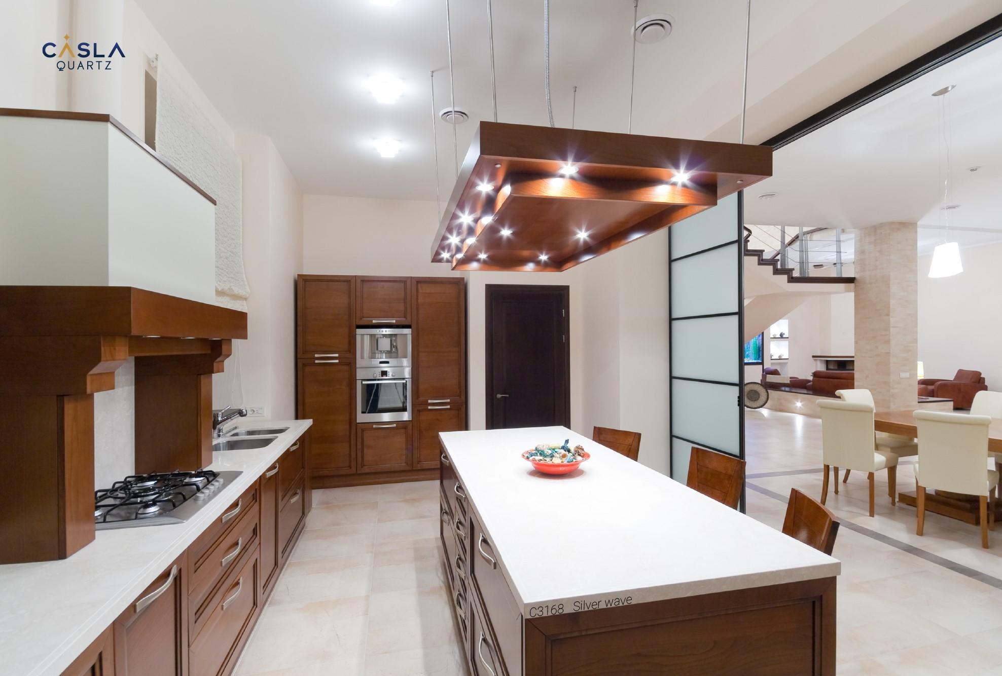 Chọn được đá ốp mặt bàn bếp chuẩn sẽ giúp cho hoàn thiện không gian bếp hơn