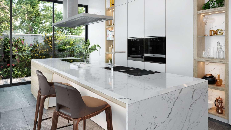 Đá thạch anh nhân tạo Calacatta Supreme: Lựa chọn hàng đầu cho nội thất